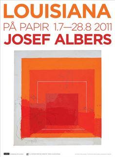 #josefalbers #louisianamuseum #poster #orange