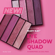 Quad, Eye Blending Brush, Mary Kay Inc, Pink Eyeshadow Look, Mary Kay Party, Summer Eyes, Cool Skin Tone, Cool Undertones, Beauty Consultant