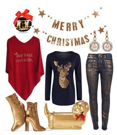 """""""COUNTDOWN TO CHRISTMAS #2"""" by cashmererebeluk on Polyvore featuring Selim Mouzannar, Charlotte Olympia, Bloomingville and Gianvito Rossi"""