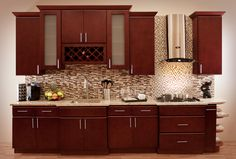 Villa Cherry Cabinetry All Wood Construction Full Overlay Maple Cam