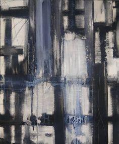 Original Mid-Century Modern Abstract 20 x 24