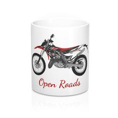 Die-hard bikers know life is about motorcycles from sun up to sun down. What better way to start the day than with fresh coffee in this super cool biker mug? This unusual bikers coffee mug is the perfect gift for motorcycle enthusiasts, mc members, and biker chicks. Available online