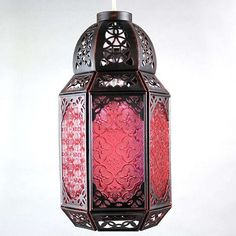 Marrakech Lantern Pendant | Dunelm