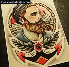 tatuaje americano tradicional