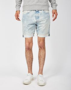 Levi's 501 CT Shorts Blue | Shop men's clothing at The Idle Man