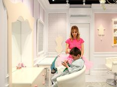 Child&Chic children hair saloon by Nabito architects and Partners SLP, Barcelona – Spain » Retail Design Blog