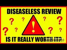 If you want to improve your immune system and want to get rid of all those annoying chronic diseases, then definitely check out this new program called Diseaseless!