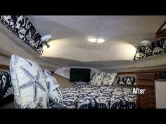 How to Make V-Berth Cushions - YouTube