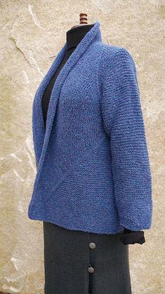 Knit Cardigan Pattern, Crochet Cardigan, Sweater Patterns, Yarn Projects, Knitting Projects, Knit Picks, Stockinette, Knitting Patterns, Knitting Ideas