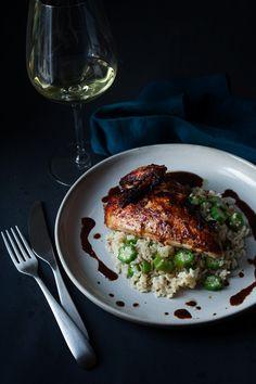 Jerk Chicken & Okra Rice | Goodies à Volonté #Chicken #Okra
