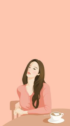 Cute Pastel Wallpaper, Cute Girl Wallpaper, Anime Backgrounds Wallpapers, Cute Cartoon Wallpapers, Cover Wattpad, Teen Photography Poses, Vaporwave Wallpaper, Pop Art Drawing, Cute Couple Art