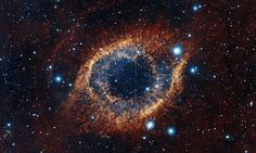 'Celestial firework display' of the Helix Nebula captured in stunning new image.