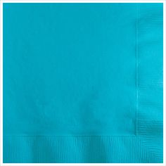 3 Ply Beverage Napkins Bermuda Blue/Case of 500