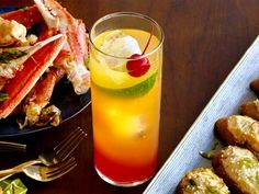 Get Simple Singapore Sling Recipe from Food Network