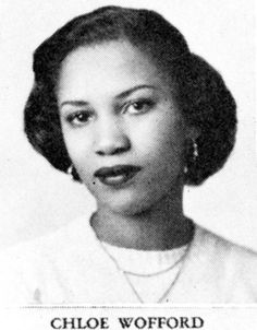 Chloe Wofford was born in Lorain, Ohio on February 18, 1931. She graduated with honors from Lorain High School and earned a bachelor's degree in English at Howard University. It was during her time at Howard University that she changed her name to Toni Morrison.