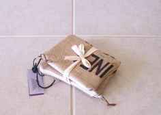 Burlap zipper pouches, set of two https://www.etsy.com/listing/221791320/burlap-zipper-pouches-set-of-2-wallet