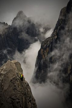 Rock climbing - Australia x 2, USA x 2, Canada x 2, Asia x 3, South America x 2 and Europe x 3