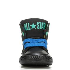 49fadd6e3b8b3f Converse Kids  Chuck Taylor All Star High Street High Top Sneakers (Black  Soar