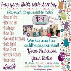 It's the best $99 you'll ever spend!  www.lynnebiniker.scentsy.us