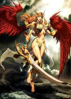 Niké, a vitória-Sou uma deusa representada como uma jovem alada. Sempre fui associada com Atena pelos gregos, e essa associação talvez exista porque Atena era a deusa da estratégia militar: uma boa estratégia garantia quase sempre a vitória no campo de batalha. Meu símbolo é uma asa.