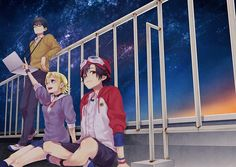 Switch, Himeko,and Bossun Manga Art, Manga Anime, Anime Art, Types Of Drawing, Dance Images, Manga Quotes, Anime Comics, Stargazing, Anime Style