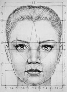 portrait-drawing-techniques-for-beginners-face-portrait-drawing drawing techniques - Drawing Tips Drawing Lessons, Life Drawing, Drawing Sketches, Pencil Drawings, Painting & Drawing, Art Drawings, Drawing Faces, Sketching, Face Proportions Drawing