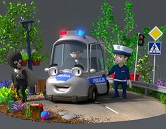 "Check out new work on my @Behance portfolio: ""Police car"" http://on.be.net/1Tx1ydF"