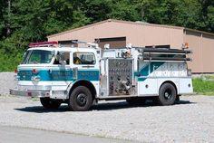 Nemacolin, PA Fire Company Engine 67-7 1979 American LaFrance 1,500/1.200 X-Northeast Fire Department, Pa