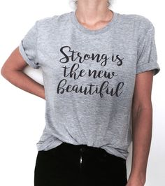 Welcome to Nalla shop :)  For sale we have these great Strong is the new beautiful t-shirts!   With a large range of colors and sizes - just select