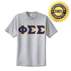 Phi Sigma Sigma Standards T-Shirt - $14.99 Gildan 5000 - TWILL