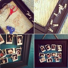 d.i.y. hanging photo frame tutorial via Jody Peterson Photography