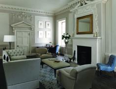 GeorgeSmith_Tiplady_Sofa - Signature_Chairs - Brewster_Chair - Empire_Stool - Georgian_Desk_Chair