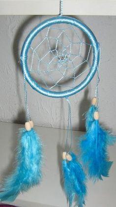 Filtro Dos Sonhos Azul Claro Grande