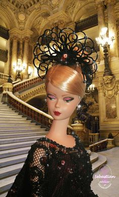 Portrait 1 of Spleen de Paris by Sebastian Atelier. Background Opera Garnier