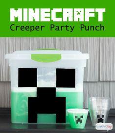 Atta Girl Says | Minecraft Party Punch Recipe | http://www.attagirlsays.com
