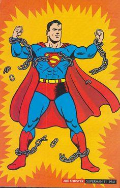 Joe Shuster, Superman, 1941