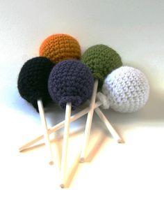 Ctochet Lollipop - Tutorial ❥ 4U // hf  http://www.pinterest.com/hilariafina/