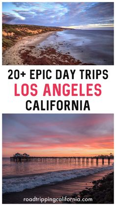 From stunning beaches and parks to charming towns and wine country, discover the best day trips from LA! Palm Springs, San Diego, Malibu, Ojai, Santa Barbara and more! #losangeles #california #daytrips #beaches #parks