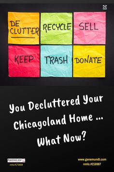 The names of Chicagoland organizations, businesses, and charities . and links to their websites . that accept, or will even pick-up, items you hope to donate after de-cluttering your home