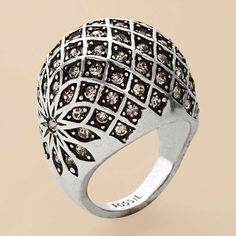 @Amanda Gill ....this reminds me of you and your love affair with big beautiful rings! :)