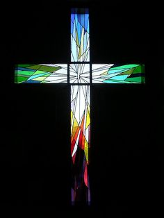 Stained Glass Cross! Amazing!!!!
