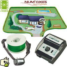 CANIFUGUE Num axes cloture électronique ANTIFUGUE chien