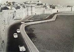 Ρόδος The Race circa 1960 Rhodes, Greece, The Past, Racing, Island, Vintage, Greece Country, Running, Auto Racing