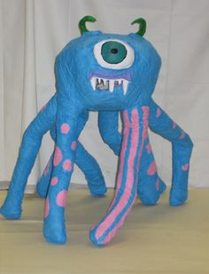 Art Lesson Plan: Paper Mache Monsters