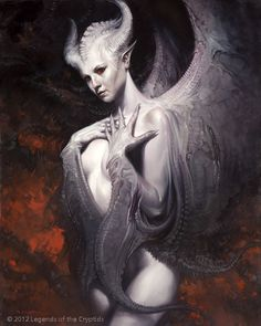 About art, illustration, fantasy, sci-fi and other cool stuff Dark Fantasy Art, Fantasy Artwork, Fantasy Art Women, Dark Art, Arte Horror, Horror Art, Ange Demon, Demon Art, Fantasy Creatures