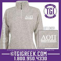 TGI Greek - Alpha Omicron Pi - University of Arkansas #tgigreek #alphaomicropi