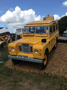 Land Rover Series Three 109 Station Wagon 2.6 6 cylinder petrol  AA Heritage fleet