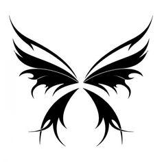 motyl tatuaż, wzór