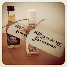 Will You Be My Groomsmen? Project