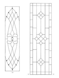 page65Dover's door stained glass patterns